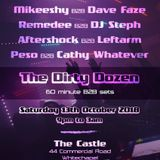 Dj Aftershock B2B Leftarm - recorded live @ The Dirty Dozen, London 13/10/18