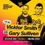 Vicktor Smith b2b Gary Sullivan - Live at TESIS BULI (Sing Sing Szeged) (2014-04-08)
