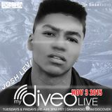 Josh Levi mydiveo LIVE on Dash Radio