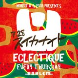ECLECTIQUE LIVE MIX 28th July 2016 at CLUB HARLEM with MC RICKY