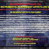 Recording of The Instrumental Independent Artists Live Show on September 3th 2015