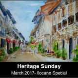 Heritage Sunday (Ilocano Special) -March 2017 edition