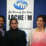 Chester Sanjhi Indian Association Diwali Parade Interview on Lache FM