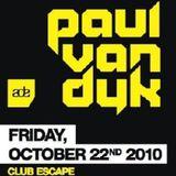 Paul van Dyk - Live @ Vandit Night, Amsterdam, ADE (22-10-2010)