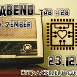 "Ed Ballat @ Treiberabend - TAB#28-  ""Techzember"" on Herzblut Radio (23.12.15)"