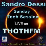 Sandro Dessì  Tech Session Live on ThothFm 2 Dicembre 2018