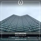Excursions #56 • With DJ Gilla • Recorded Live On Balamii • January 2018