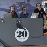 Wahnsinnsradio im Löscher: Greis