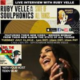 LOTL The Zone Welcomes Ruby Velle from Ruby Velle & The Soulphonics