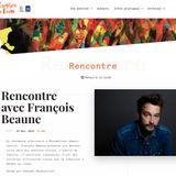 FrancoisBeaune comedie du livre -GB-mediathequeTeyran-juin2018