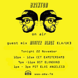 Mister Blaqk - Brixton On Air / AMW.fm - 22 Nov 2016