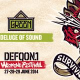 Deluge of Sound @ Defqon 1 2014 (Green Stage)