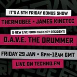 Live From Hackney With ThermoBee, James Kinetec & D.A.V.E. The Drummer (Jan 2016)