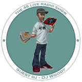 45 Live Radio Show pt. 53 with guest DJ WOODY