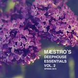МÆSTЯО 's deephouse essentials Vol.2 Spring 2015