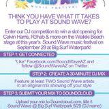 Soundwave @ Big Surf  Waterpark 9/29 (Audiohype)
