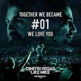 Dimitri Vegas & Like Mike @ kineticField, EDC Las Vegas, United States 2015-06-19