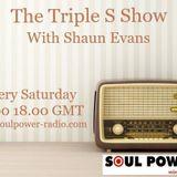 Shaun Evans Triple S Show 29 / 09 / 2019 Tribute to Chris Beggs