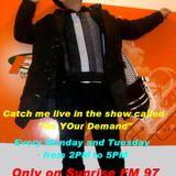 On Your Demand with DJ TAC (Tahir Abead Chaudhry) Sunrise FM 97 Islamabad 03-12-12
