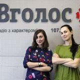 Каша Сальцова, вокалістка гурту Крихітка на радіо Вголос