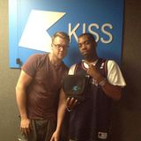 Distance featuring Crazy D (Chestplate) @ The Dubstep Show, Kiss 100.0 FM (17.07.2013)