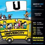 Spectrum Radio - 226 - Univercity Festival