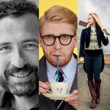 Episode 35 med Christian Grau, Tina Dickow og Nikolaj Stockholm