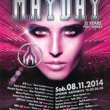 Mario Ranieri @ MAYDAY 15 Years Full Senses, Spodek Katowice, Poland 8.11.2014