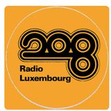 Tony Prince and Bob Stewart on Radio Luxembourg in April 1976