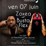 Antichambre #157 spécial Zoxea & Busta Flex