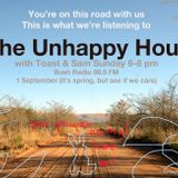 The Unhappy Hour Show 1 Sept 2013 New South African music and classic tear-jerkers - Toast & Sam