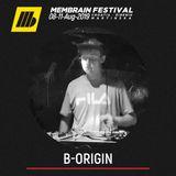 B-Origin - Membrain Festival 2019 Promo