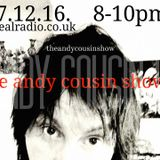 The Andy Cousin Show 07-12-16