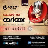 UMF Radio 206 - Carl Cox & Jon Rundell