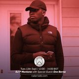 DJ P Montana w/ One Berna - 13th September 2016