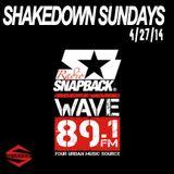 SHAKEDOWN SUNDAYS APR. 27TH 2014