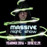 peter jabin - Massive Night Show 162 (Yearmix 2016)