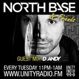 North Base & Friends Show #20 Guest Mix DJ ANDY (Brazil) [2017 02 07]