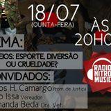 Programa Na Real com Vicente Bernardes Ao Vivo 18/07