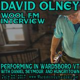 David Olney: WOOL-FM interview