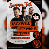 Jackwell x Strong R x DJ TYMO live @ Club 1001, Bordány 2018.08.18.