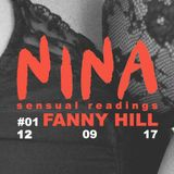 NINA | Sensual Readings | episode 1: FUNNY HILL | GIOCONDA RADIO 12.09.17