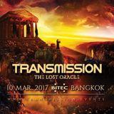 Bryan Kearney Live @ Transmission - The Lost Oracle @ BITEC, Bangkok, Thailand 10-03-2017