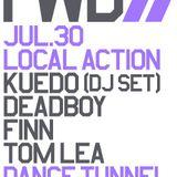 Kuedo DJ set @ Local Action / FWD, London, 07/2015