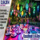 Wotta Mess @ Kaossfreak's B-Day Radio Show Part 2 - 130BPM.eu Online Stream - 12.04.2014