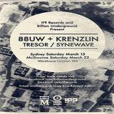 88uw @ IF? Records And Billion Underground Present (Krenzlin + 88uw) - Warehouse Sydney - 15.03.2014