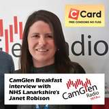 CamGlen Breakfast interview with Janet Robison from NHS Lanarkshire's C Card scheme, 13 Apr 2017