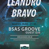 BSAS GROOVE GUEST DJ - Episodio 17 - LEANDRO BRAVO - 29032016