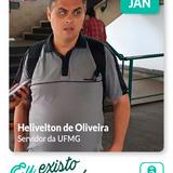 """""""Eu existo e me movo"""": experiências Helivelton de Oliveira"""