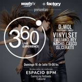 NACHO CASCO @ 360 Live Experience , Complejo BPM , Mar del Plata